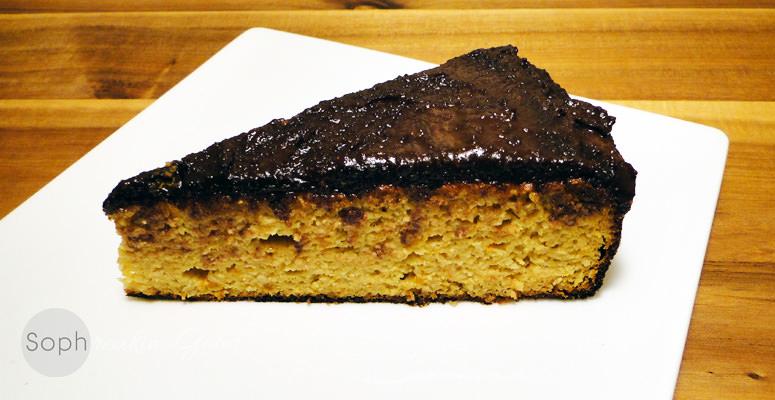 Orange Cake & Chocolate Hazelnut Creme