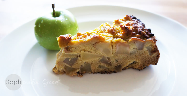 Paleo Sharlotka (Russian Apple Pie)