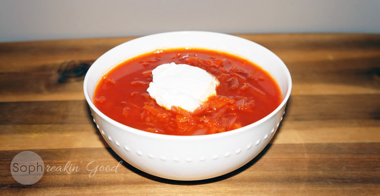 Paleo Vegetable Borscht