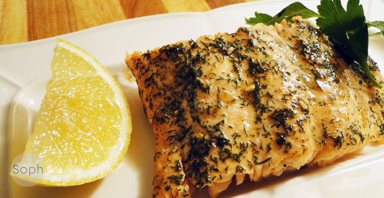 Sesame Maple Salmon