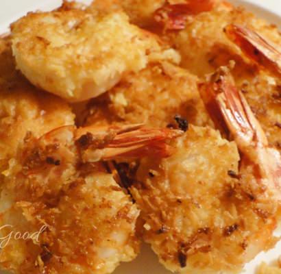 Triple Coconut Shrimp
