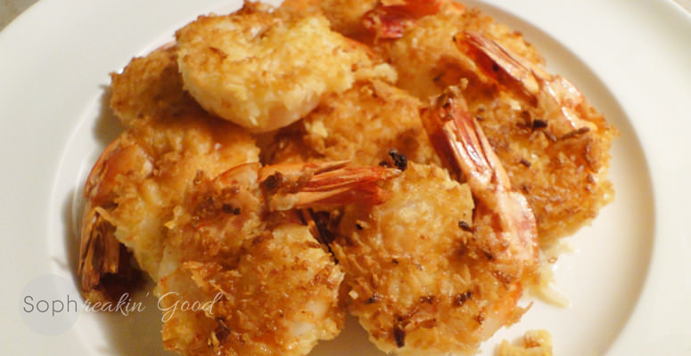 Triple Coconut Shrimp