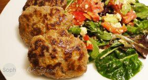 Garlicky Beef Cutlets