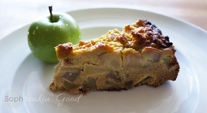 Paleo Sharlotka (Russian Apple Pie)
