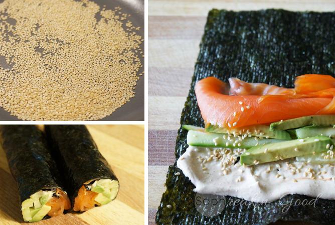 Rice-Free Maki Rolls