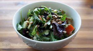 Summer Salad with Dijon Dressing