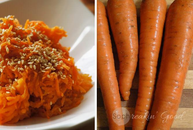 Sweet Asian Carrot Salad